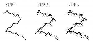 Mountains Tutorial - Style 2